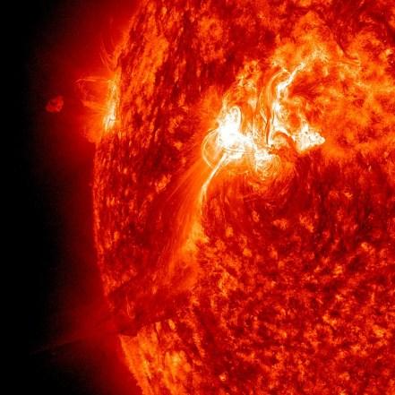 Solar Blaze and Flare