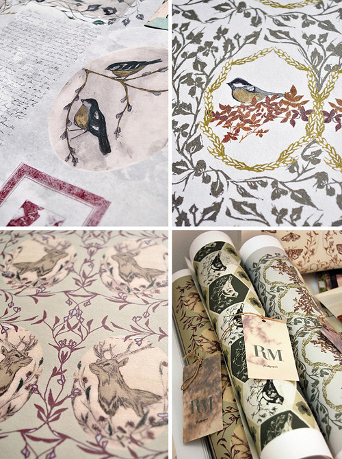 Rosemary Milner Wallpapers, Fabrics and More!