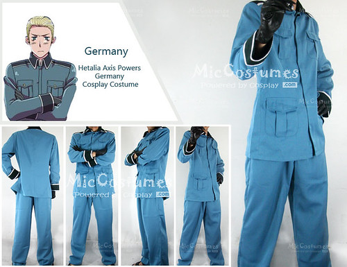 Hetalia Axis Powers Germany Cosplay