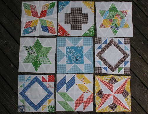 Summer Sampler Series by kate @ swim, bike, quilt!