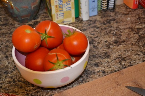Tomatoes, all grown