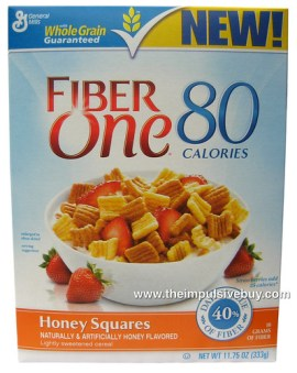 Fiber One 80 Calories Honey Squares