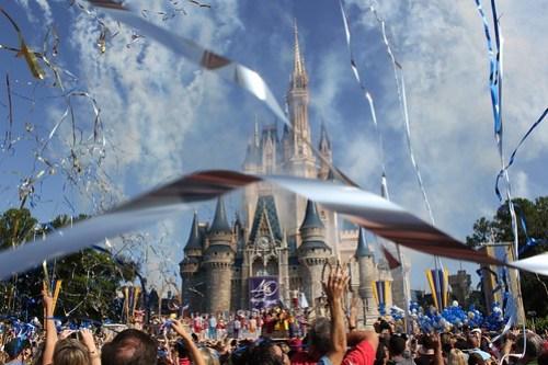 Walt Disney World 40th anniversary celebration at Magic Kingdom