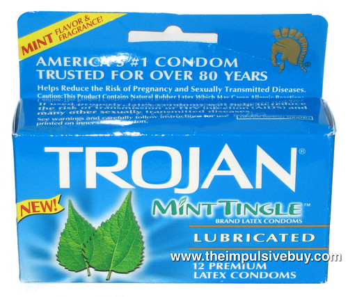 Trojan Mint Tingle Condoms