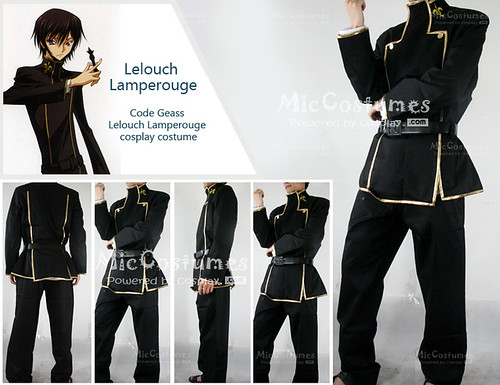 Code Geass Lelouch Lamperouge cosplay