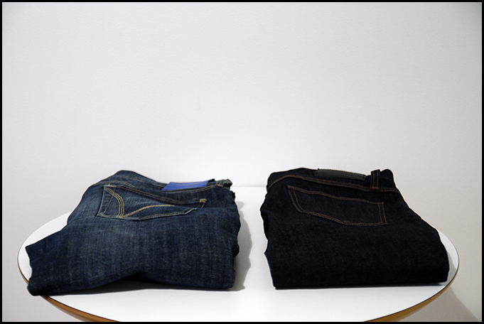 Tuukka13 - New Every Day Denim by Uniqlo T000 SKinny Tapered and Adidas Originals Denim Rekord 8 Bits Blue - 1