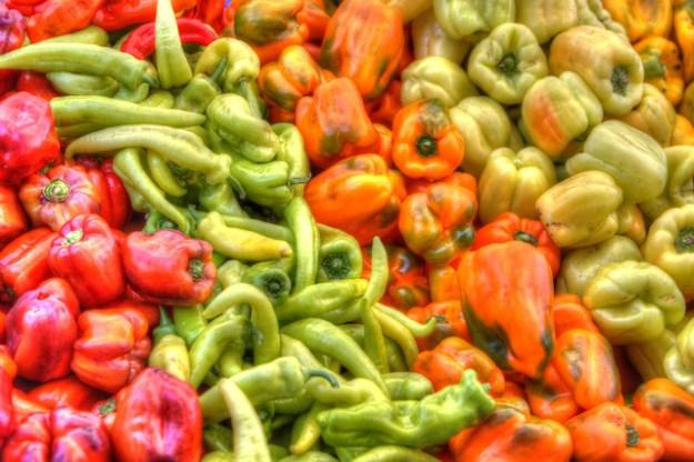 Peppers - Happy Quail Farms - Menlo Park Farmers Market