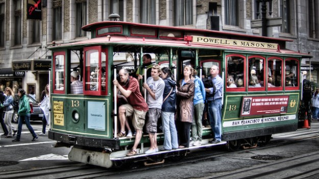 Lucky 13 - San Francisco Cable Car by Scott Loftesness