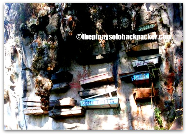 Sagada Hanging coffins photo