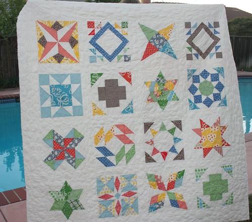Summer Sampler Series--the quilt