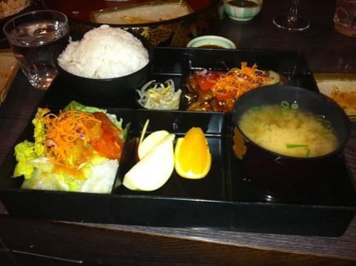 Teriyaki Chicken Set from Hanami