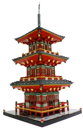 LEGO Kiyomizu-dera Pagoda by Matija Grguric