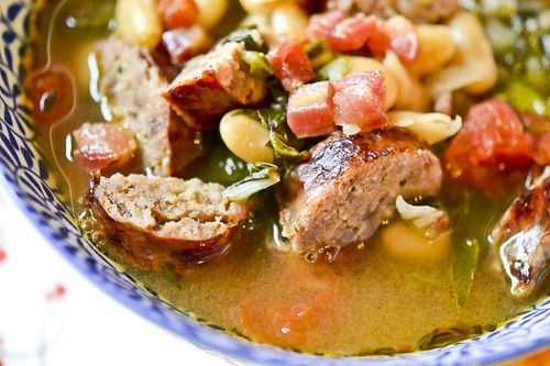 Swiss Chard, White Bean & Sausage Soup 3