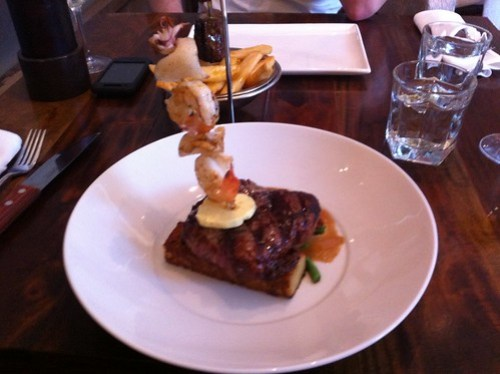Surf & turf at Hippo Creek Subiaco