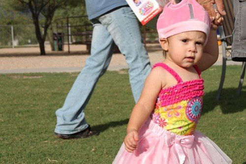 Madison's First Birthday Party