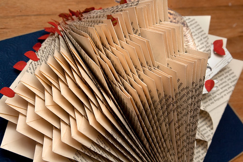 Altered Books Great Horned Owl-4