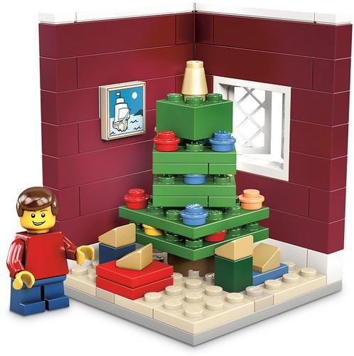 LEGO Christmas vignette 1