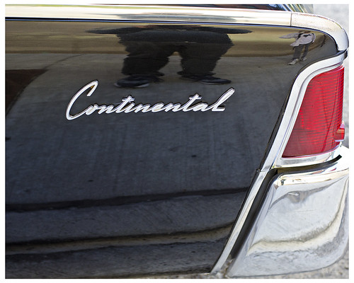 Lincoln Continental - set of NBC's Playboy