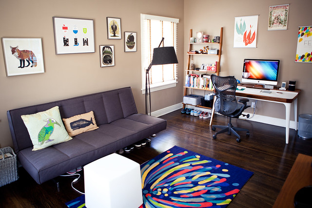6090919472 c8a8c3ff5d z LA Home Office by Garrett Murray | Featured Workspace