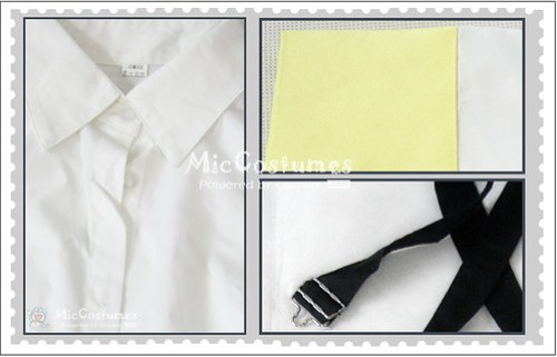 Vocaloid human sacrifice rin cosplay costume1