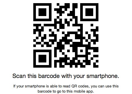 The Zennie62 Mobile App Barcode by zennie62