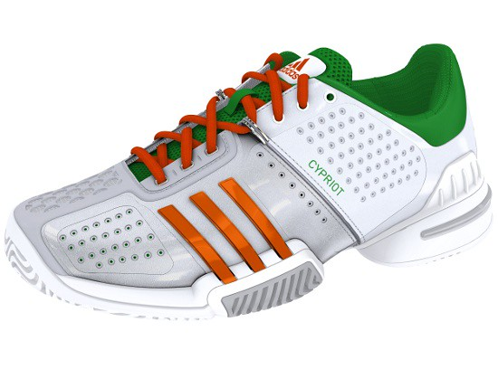 Marcos Baghdatis adidas tennis shoes