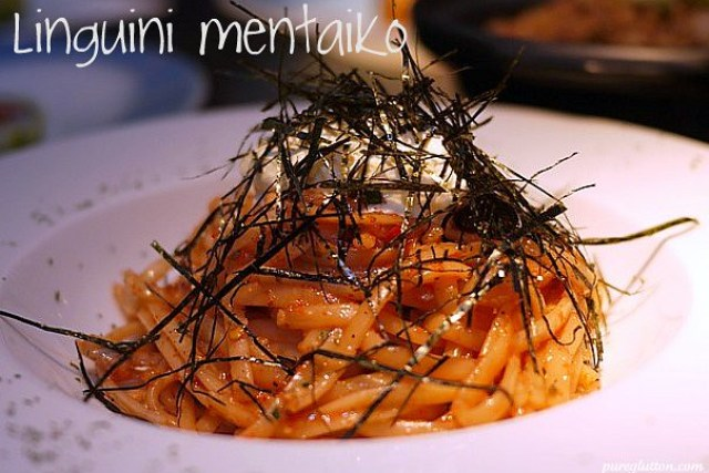 linguini mentaiko