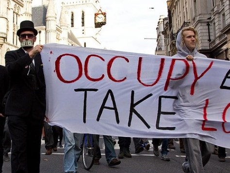 Occupy London, 9 November 2011