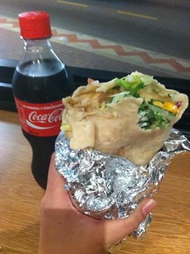 Burrito from Zambrero Mount Lawley