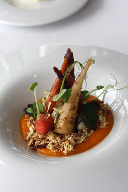 carrots with cumin and amaranth