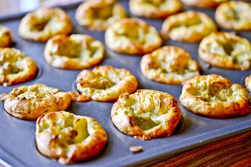 Mini Blue Cheese Popovers 10