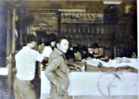 THE AVELMAN'S TAILORING, OUR FAMILY-OWNED BUSINESS AT GOLDEN CITY THEATER ALONG CAGAMPANG STREET