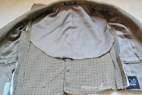 Tweed Blazer Step 4