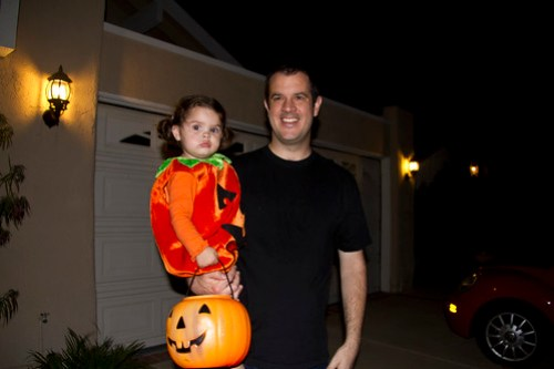 Annie and Daddy
