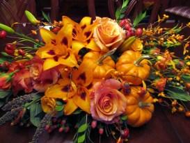 Thanksgiving Centerpiece Closeup