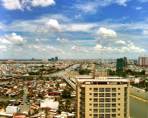 IPhone snapshot - beautiful Saigon day