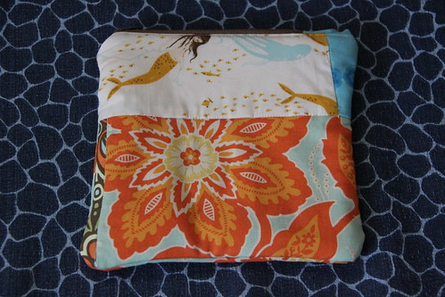 Quilted pouches