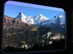 Reader S.S. | On a train near Interlaken | Switzerland | 10:21am