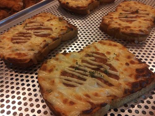pizza toast @ Tous Les Jours