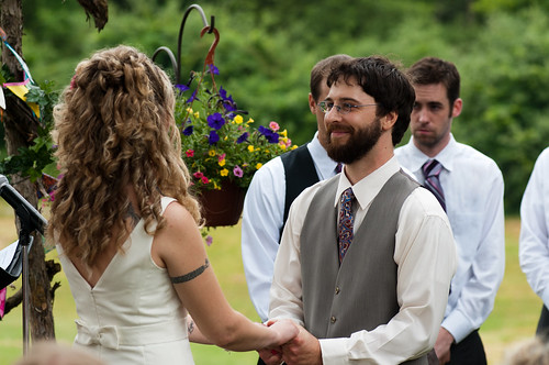 During vows