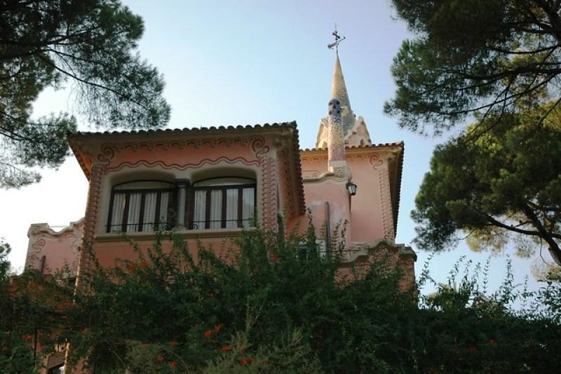 Casa-Museu Gaudi, Parc Güell, Barcelona
