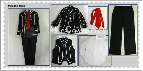 Vampire Knight Men Day department School Uniform Cosplay Costume1