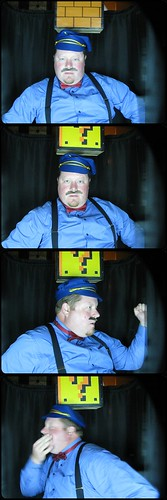 Photobooth Favorites: Scott with our Card Box