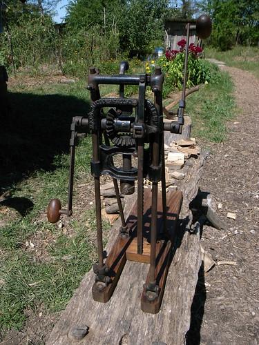 Millers Falls Antique Boring Machine