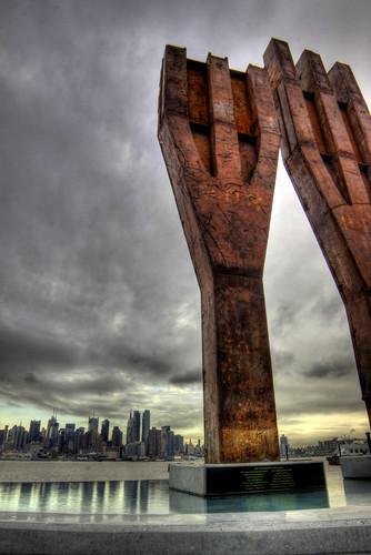Weehawken 9/11 Memorial by serenitbee