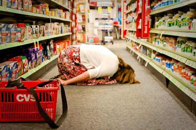 (224/365) face down on aisle 4
