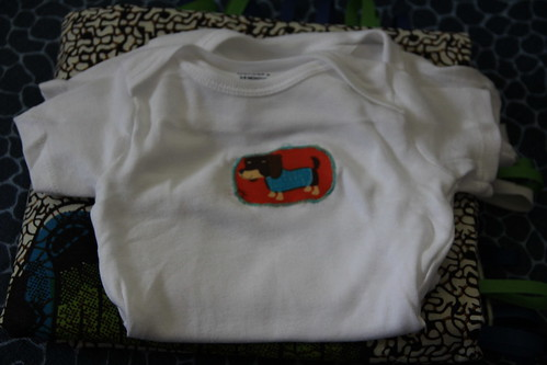 Baby shower gift, african style