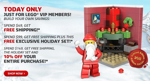 LEGO VIP program deals