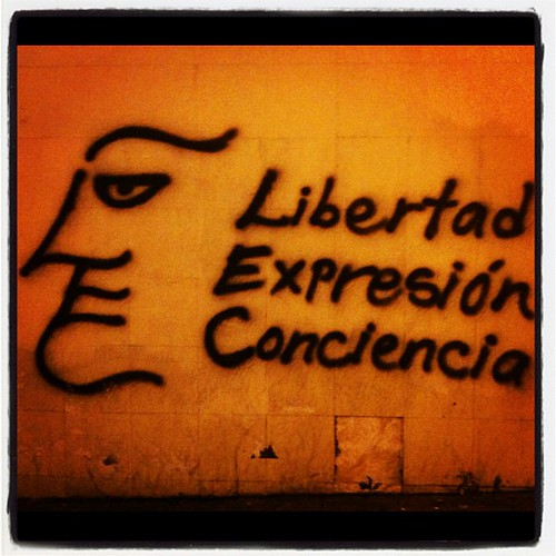 Libertad, expresión y conciencia nos declara el muro