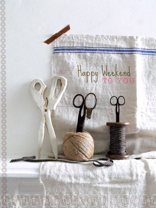 Happy Weekend To You!
